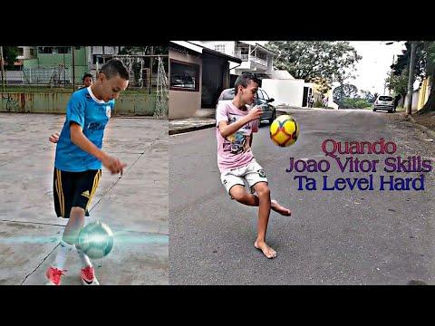Quando o Joao Vitor Skills ta Level Hard • Dribles e Gols  Humilhantes • Neymar Skills Show 2019 HD