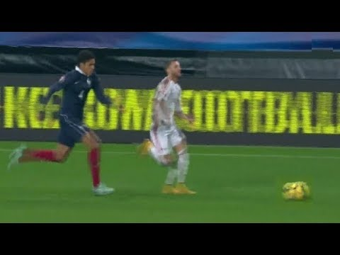 Varane Chasing Down Players || Crazy Speed & Defense ||