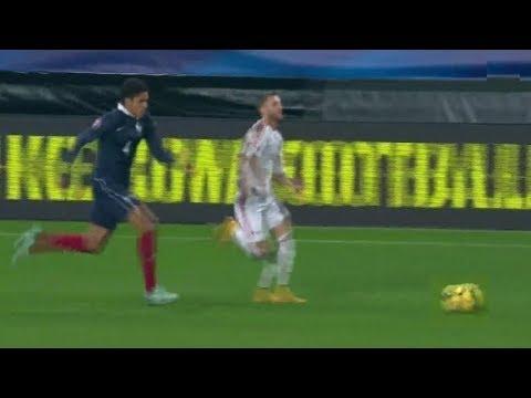 Varane Chasing Down Players || Crazy Speed & Defense ||