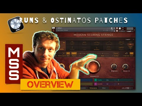 MODERN SCORING STRINGS *Overview* | Runs&Ostinato Patches Comparison