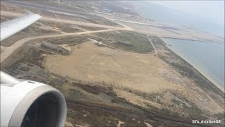 Aegean Airlines A320 Business Class Take Off From Thessaloniki Airport [HD](Flight from Thessaloniki Int. Airport to Rhodes with Aegean Airlines A320! Recorded with iPhone 5s Date: 24/03/2015 Seat: 2A. ©Sifis_Avi..., 2015-04-21T09:29:13.000Z)