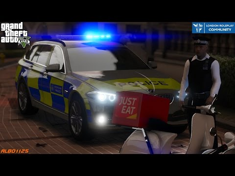 GTA5 LRPC - Just Eat Delivery Gone Wrong - British Met Police Online - London Roleplay Community #1