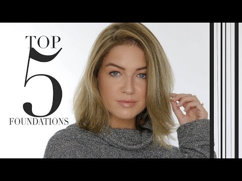 MY TOP 5 FOUNDATIONS | Shelbey Wilson