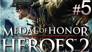 Medal of Honor: Heroes 2 - Mission 5: Monastery Assault walkthrough (Wii, PSP)
