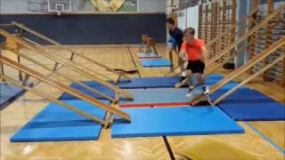 Ninja Warrior Training im Sportunterricht