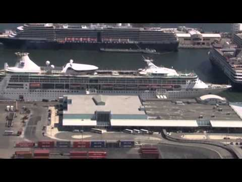 Raw: Cruise Ship With 100-plus Ill Back in Fla.