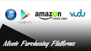 Vudu vs. iTunes vs. Google Play vs. Amazon Instant Video
