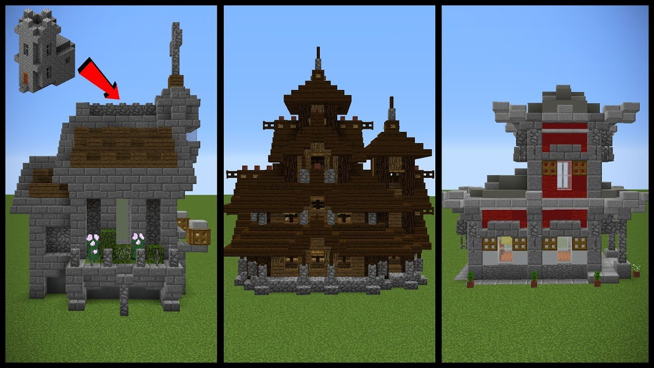 Minecraft Village Church Transformation Ideas!