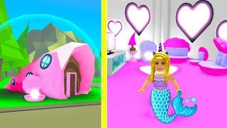I Bought A Mermaid Mansion In Adopt Me! (Roblox)
