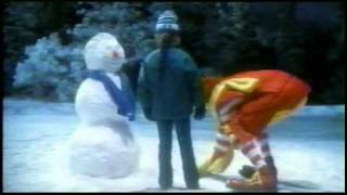 aww ronald made a friend for her snowman 2002