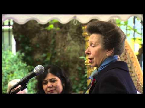 Noor Inayat Khan: The Unveiling of the Memorial (November 2012)
