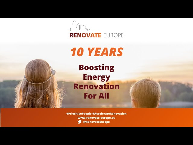 REDay2021  - 10th Anniversary of the Renovate Europe Campaign
