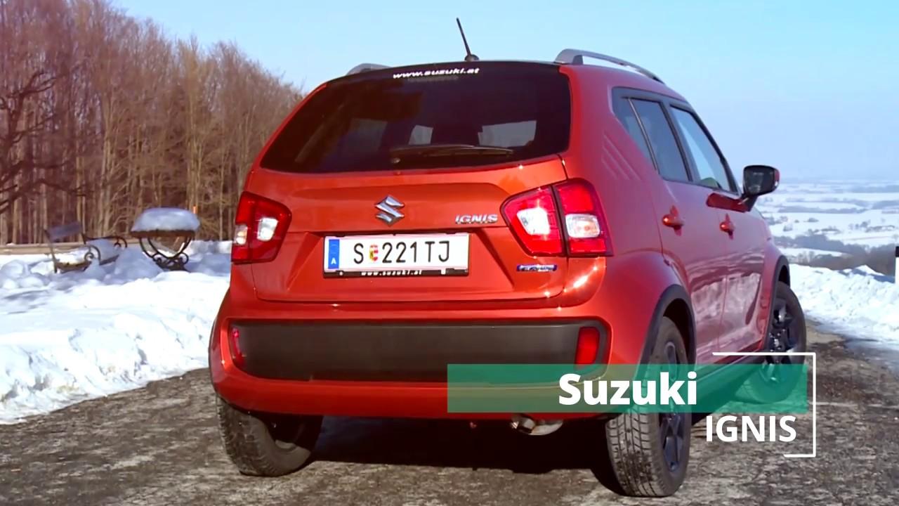 Suzuki Ignis 1 2 Drehzahl Test Youtube
