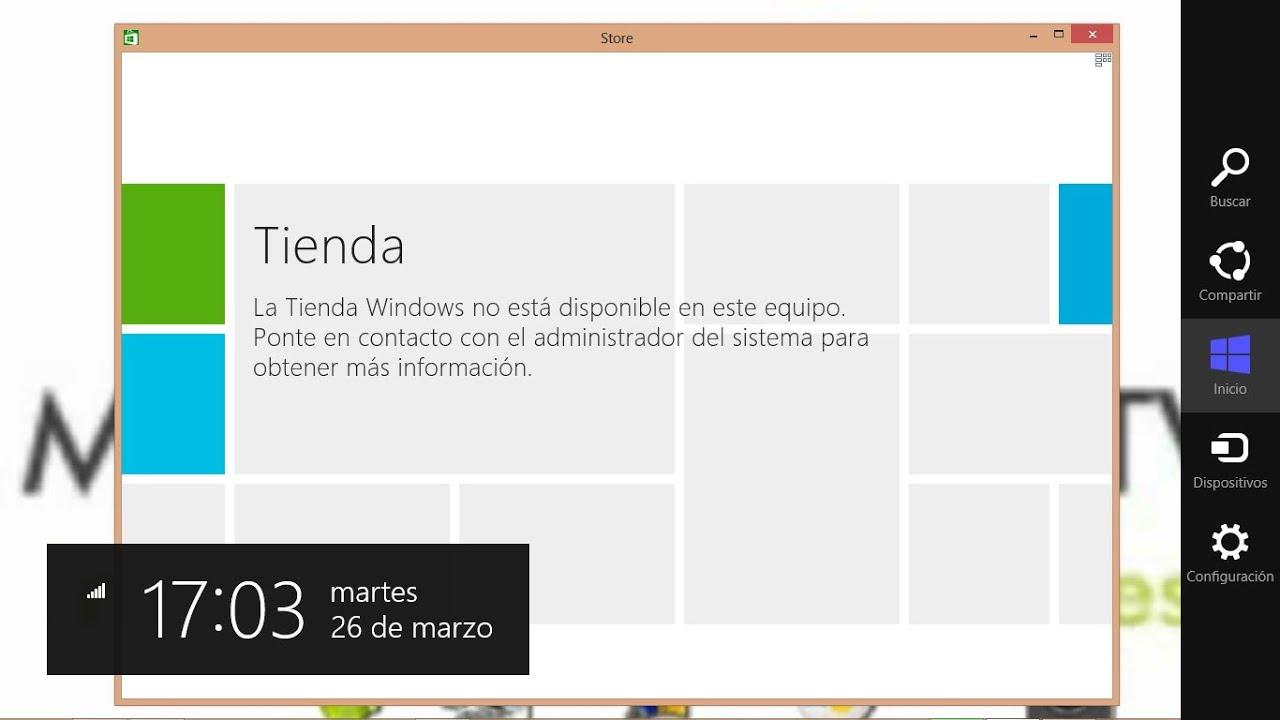 Windows 8: Como Deshabilitar o Habilitar Windows Store la Tienda de