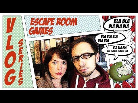 VLOG Series: Escape Room Games (NO SPOILERS)