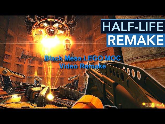 Half-Life Black Mesa LEGO® MOC Video Remake
