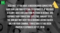 Can You Be A Nurse With A Felony Conviction?
