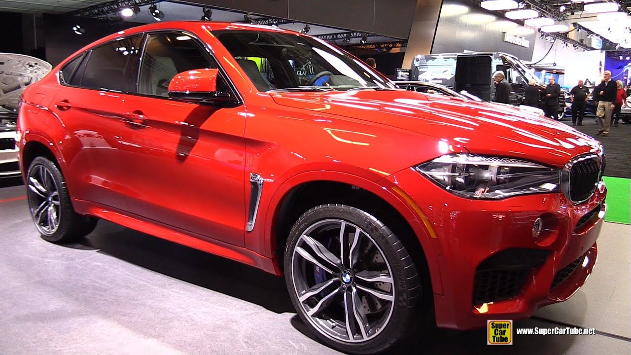 2015 Bmw 3 Series >> 2015 BMW X6 M - Exterior and Interior Walkaround - 2015 Montreal Auto Show - YouTube