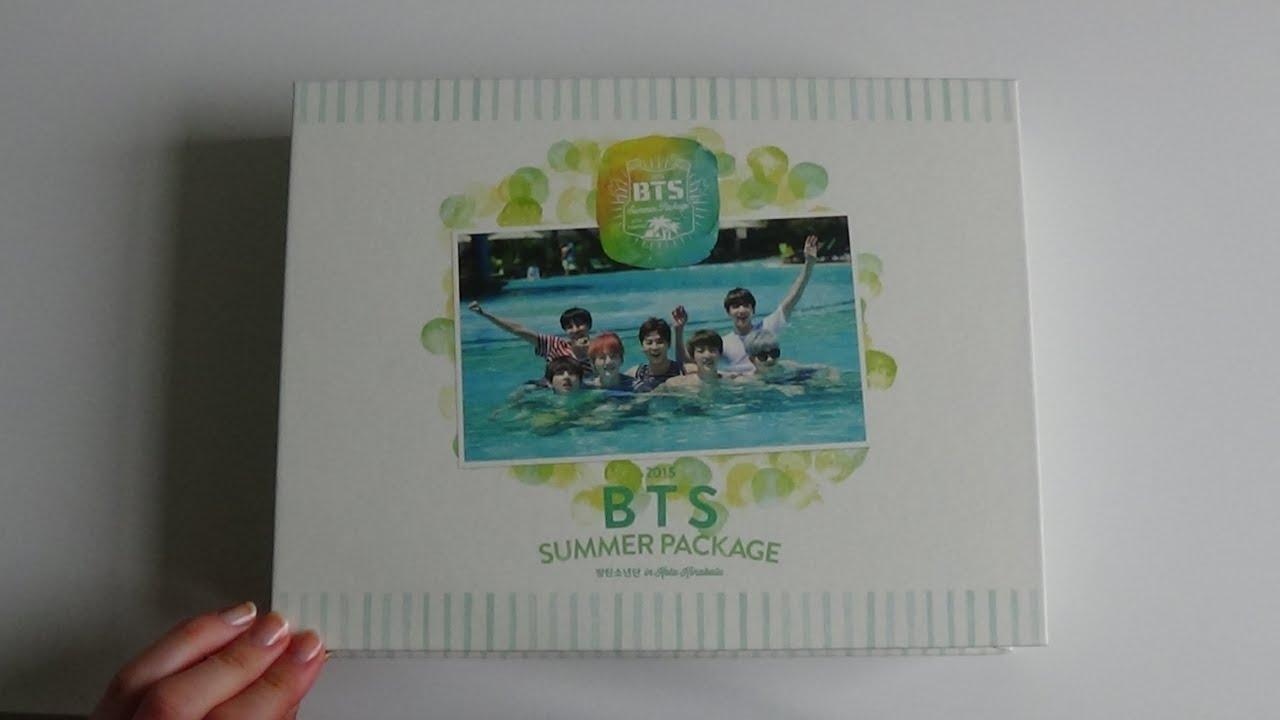 Unboxing Bts Bangtan Boys 2015 Summer Package 방탄소년단 In Kota