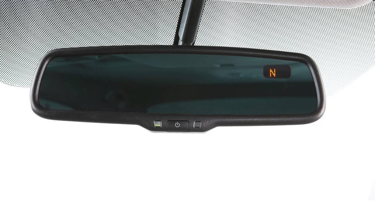 Nissan rearview mirror