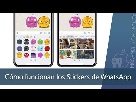 Así funcionan los nuevos Stickers de WhatsApp