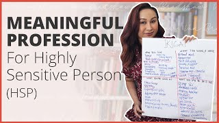 HOW TO FIND YOUR IKIGAI? FOR HIGHLY SENSITIVE PERSON (HSP)