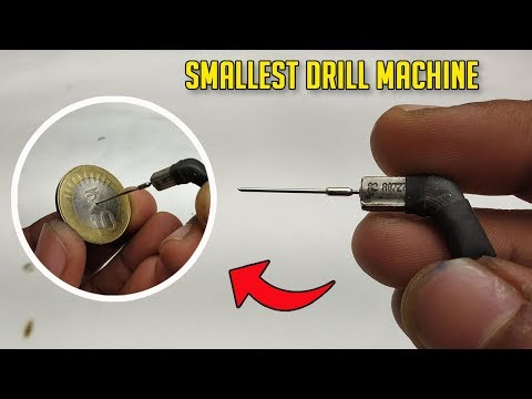 How To Make Smallest Drill Machine In The World | What is the smallest drill bit from YouTube · Duration:  3 minutes 53 seconds