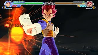 Vegeta SSJ God | Dragon Ball Z Budokai Tenkaichi 4