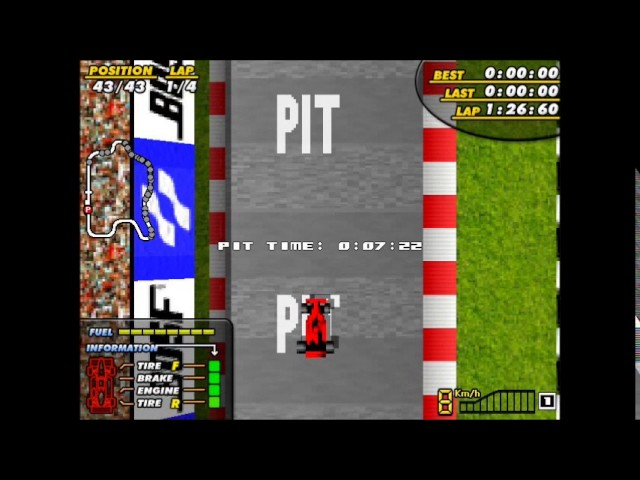 F1 Spirit Remake Gameplay
