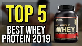 ✅ TOP 5: Best Whey Protein 2019