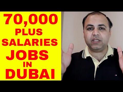 70,000 PLUS SALARIES JOBS IN DUBAI | FREE VISA, ACCOMMODATION AND MEDICAL | Jobs in Dubai