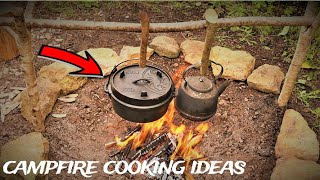BACKYARD BUSHCRAFT COOKING - Simple & Alternative Campfire Meal Ideas For You To Try - NEW SERIES