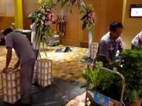 How to building a wedding arch diy womentrest youtube junglespirit Gallery