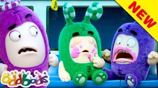 Zees Sticky Food Trap | Oddbods | BARU | Kartun Lucu Untuk Anak