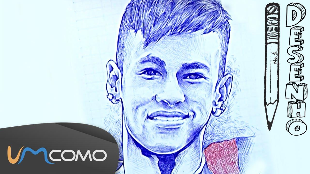 desenhar retrato de neymar   ca a   youtube
