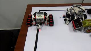 Sigue la linea con lego EV3