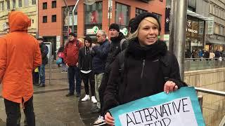 """Protest der """"Gelben Westen"""" in Stuttgart"""