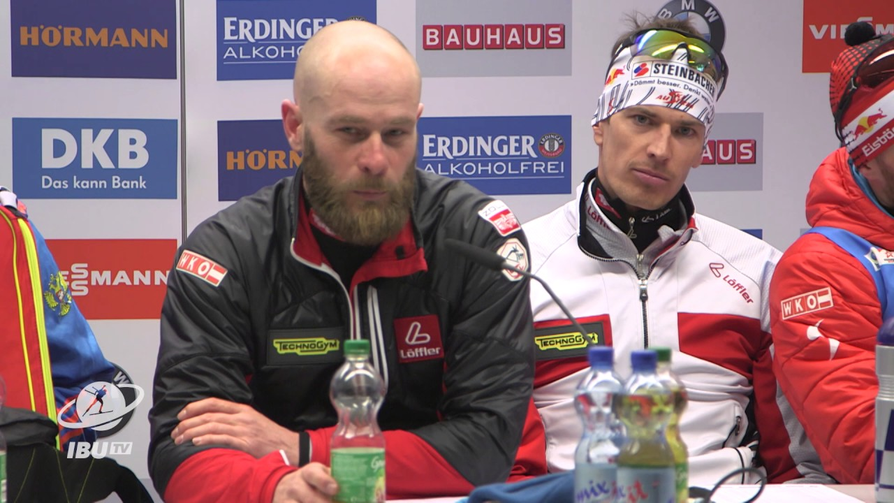 Hochfilzen2017: Winners' press conference men's Relay