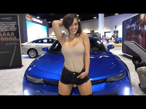 Tampa Auto Show - 2017 Chevrolet Camaro & Corvette
