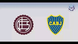 Lanus vs Boca juniors en vivo -superliga argentina 2017