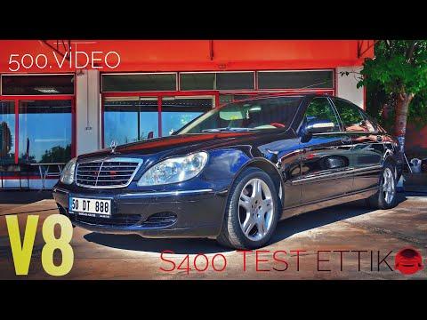 S400 Test Ettim | Mercedes | W220 | S Classe | Makam Arabası | Otomobil Günlüklerim