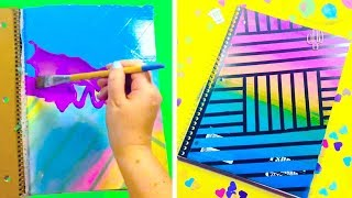 DIY NOTEBOOK IDEAS | BACK TO SCHOOL SUPPLIES YOU NEED TO TRY