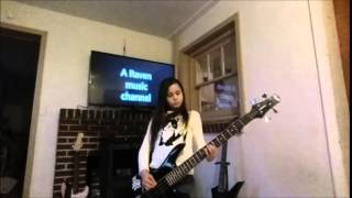 The white stripes -Seven nation army  (bass cover) A Raven #4