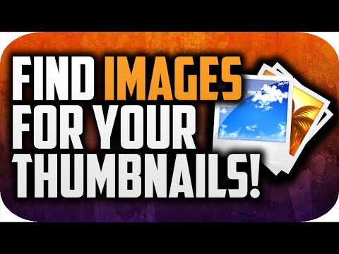 How To Find Images For Your YouTube Thumbnails!