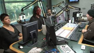 1065 The End gets a visit from Kane & Daniel Bryan