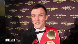 JOSH WARRINGTON ON CHISORA-WHYTE II ON THE SAME NIGHT AS FRAMPTON DEFENCE DEC 22