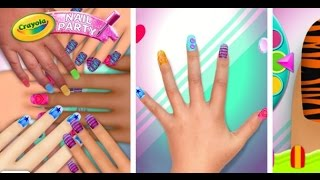 Crayola Nail Party Nail Salon - Videos Games for Girls Android}