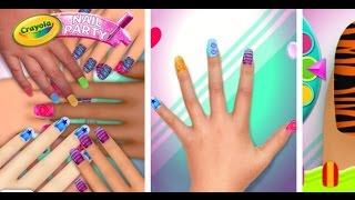Crayola Nail Party Nail Salon - Videos Games for Girls Android
