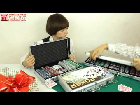 Видео-обзор: покерные наборы | Daru.com.ua