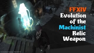 FFXIV Evolution of the Machinist Relic Weapon [feat. Alexander Boss theme (Locus)]